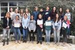 Thumbnail for the post titled: DELF-Prüflinge unserer Schule erhalten ihre lang ersehnten Diplome