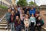 Thumbnail for the post titled: Frankreich in Kaiserslautern: 24 Purrmänner legen die mündliche DELF-Prüfung ab